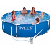 Бассейн каркасный INTEX Metal Frame Pool Set арт. 28212/56996